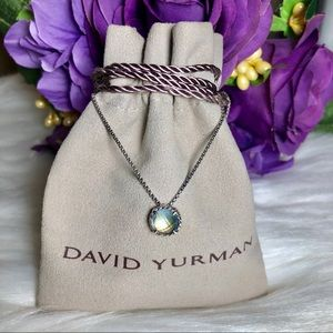 ❤️ David Yurman - Châtelaine Necklace Blue Topaz